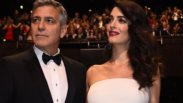 George Clooney blijft thuis in afwachting baby's