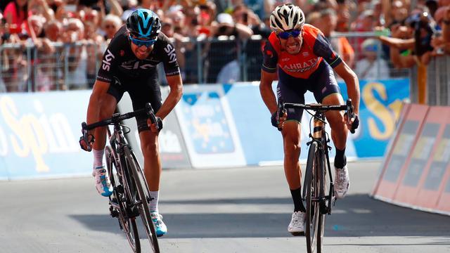 Nibali blij met einde aan lange reeks zonder Italiaanse ritzege in Giro