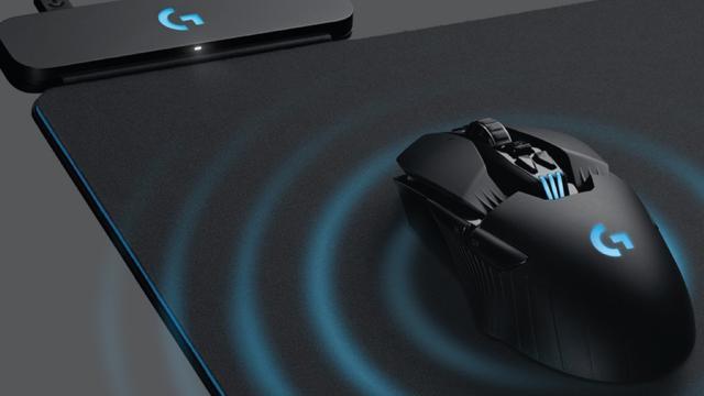 Nieuwe muismat van Logitech laadt muis tijdens gebruik op