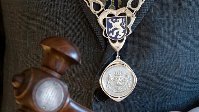Afscheidsreceptie burgemeester Huisman op 14 april