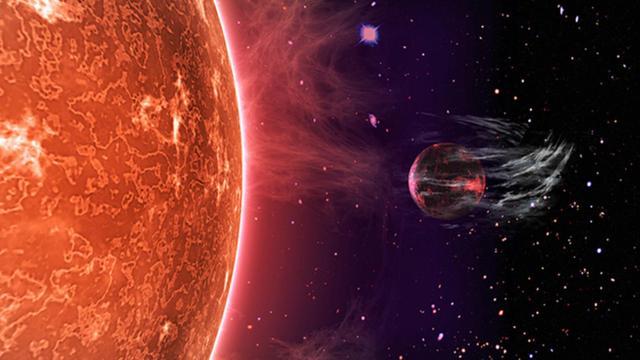 'Superaardes' zonder dampkring ontdekt