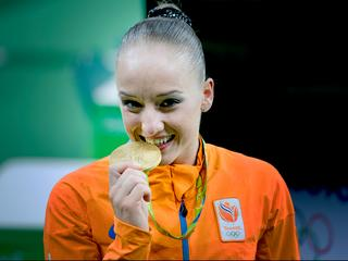 Eerste Nederlandse turnster met medaille op Spelen