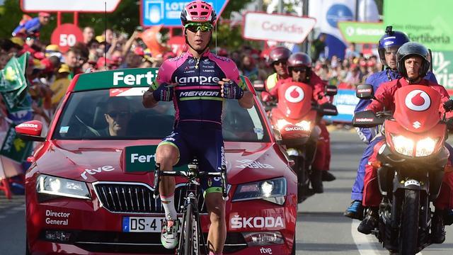 Conti soleert naar ritzege in Vuelta op veredelde rustdag peloton