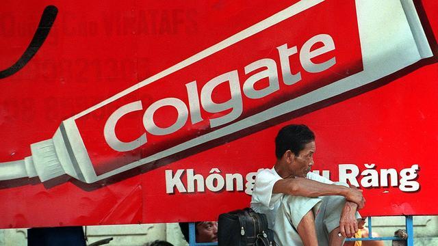 Omzet en winst Colgate-Palmolive gedaald