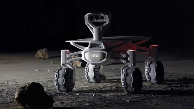 Audi werkt mee aan zelfrijdend maanwagentje