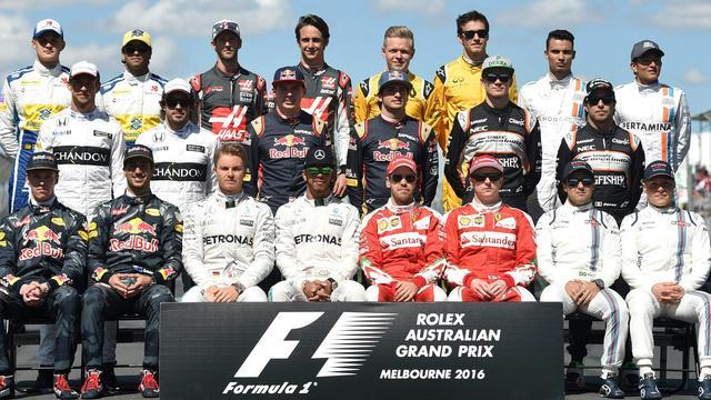 Coureurs hekelen besluitvorming regels in Formule 1