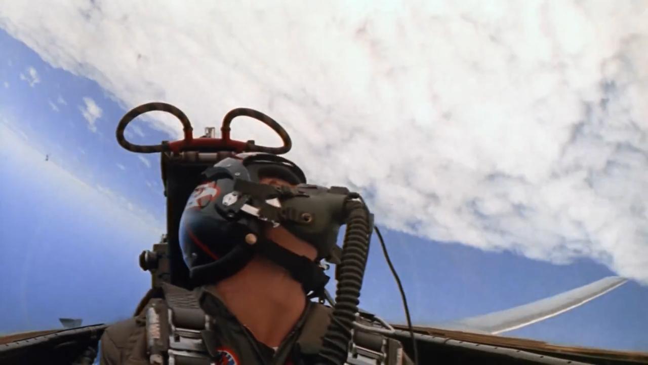 Zo zag de trailer van Top Gun er in 1986 uit