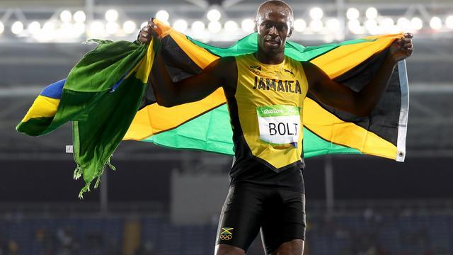 Bolt wint ook goud op olympische 200 meter, Martina mist nipt medaille
