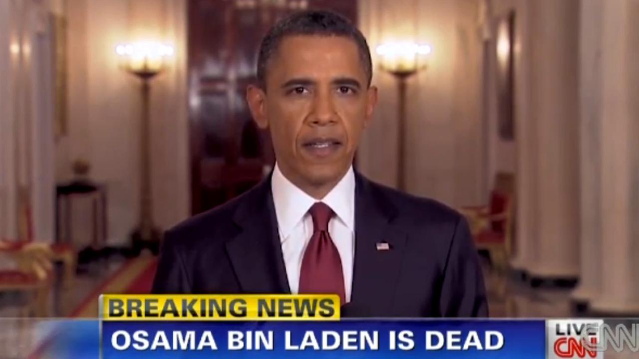 Obama meldt dat Osama Bin Laden dood is