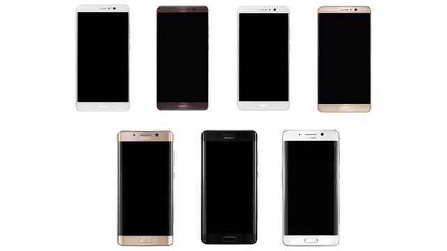 'Huawei Mate 9 verschijnt ook met gebogen scherm'