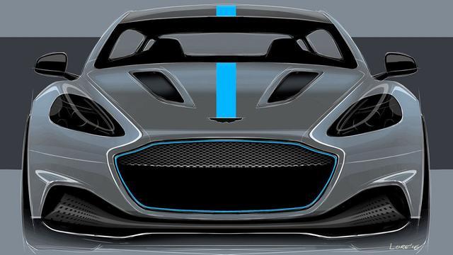 Aston Martin bevestigt elektrische sportsedan