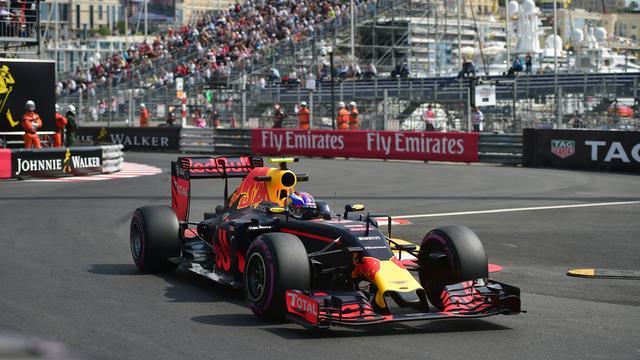Verstappen klokt vijfde tijd tijdens eerste vrije training in Monaco