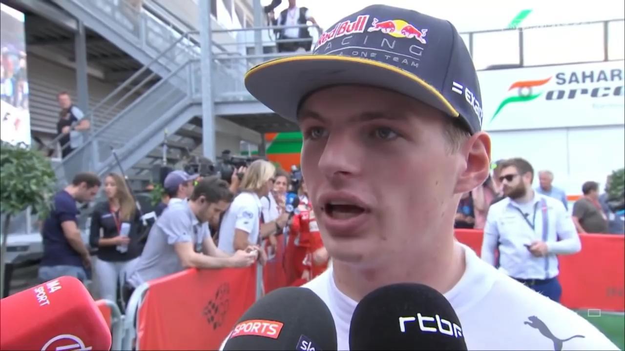 Max Verstappen gaat na race tekeer over concurrent Raikkonen