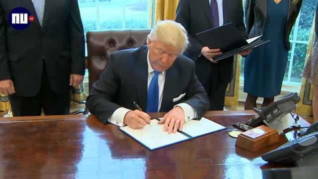 Trump neemt besluit dat aanleg omstreden oliepijpleidingen versnelt