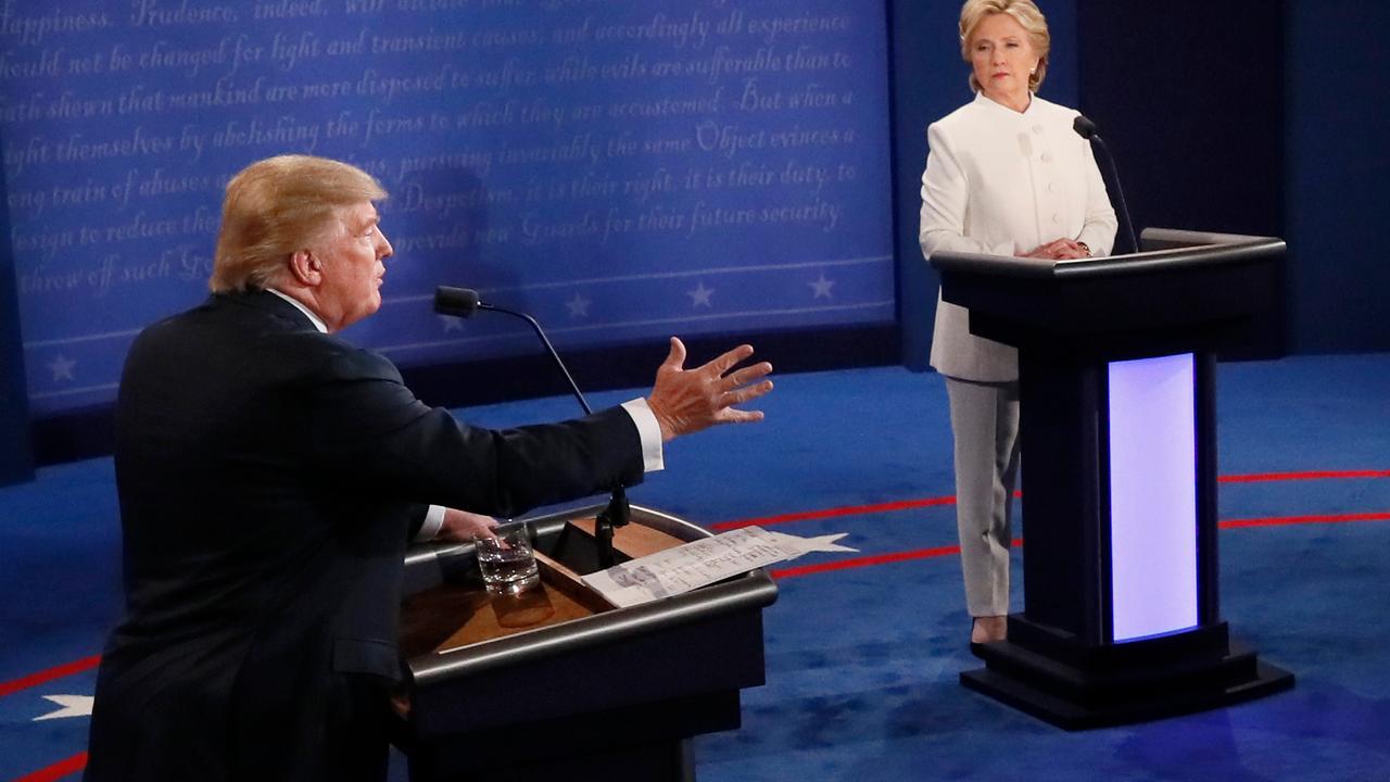Hoogtepunten van laatste debat tussen Clinton en Trump