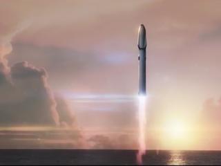 SpaceX-raket zal 10 satellieten lucht in krijgen