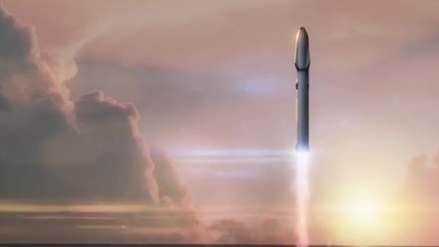 SpaceX ontwikkelt ruimteschip met herbruikbare delen