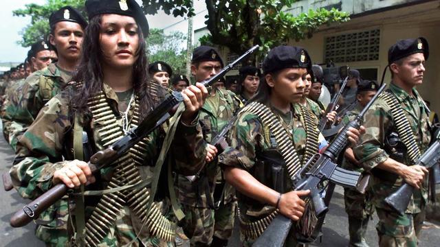 Colombia wil geld en eigendommen FARC-rebellen in beslag nemen