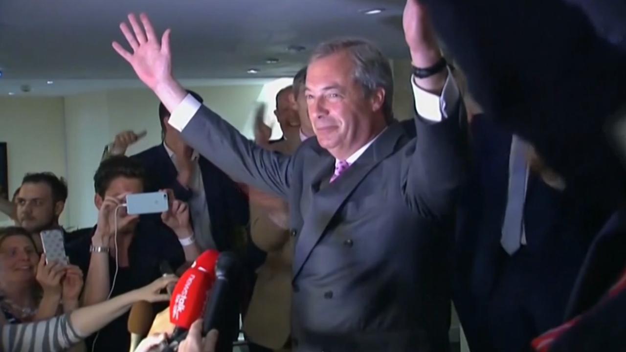 Farage: '23 juni gaat de geschiedenis in als onze Onafhankelijkheidsdag'