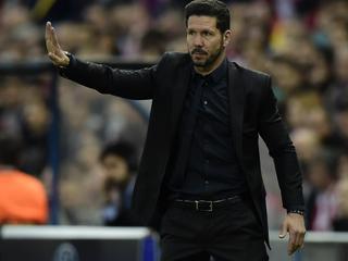 Oefenmeester van Atletico verwacht ook kleine verschillen in return