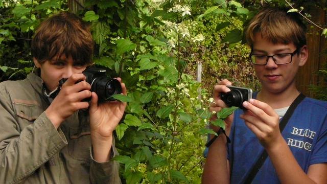 Quiniver en Frederiko houden foto-expo