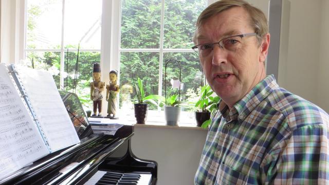 Leo van der Meij viert vijftigjarig jubileum als organist