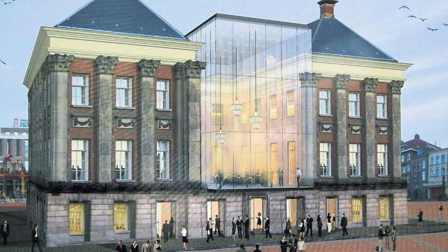 Groningse Stadhuis wordt mogelijk verbouwd