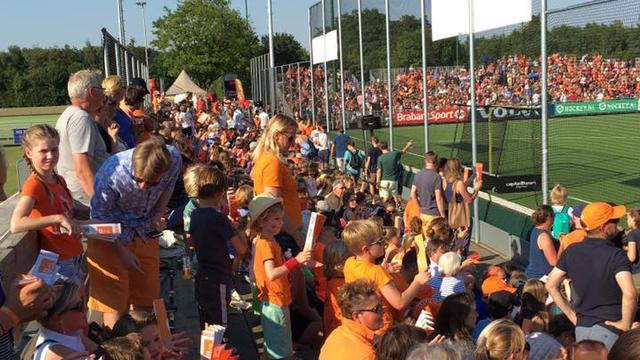 Breda zwaait Oranje dames met succes uit naar Rio