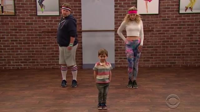 De peuter-workout met James Corden en Kate Hudson