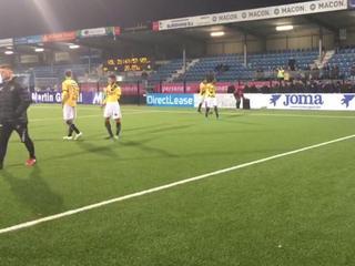 Dat zei de spits direct na de met 6-2 verloren wedstrijd in Eindhoven
