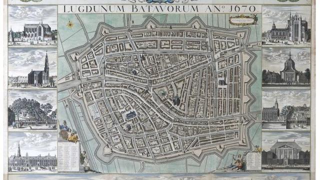 Unieke stadskaart uit V&D-pand naar Lakenhal