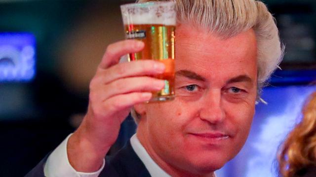 Geert Wilders brengt bezoek aan Rucphen