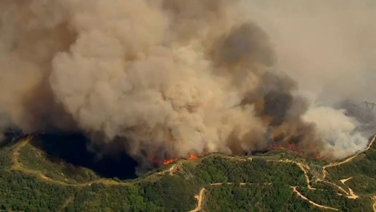 Felle branden door hittegolf in Californië