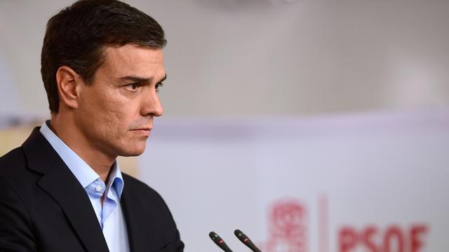 Leider socialistische partij Spanje stapt op