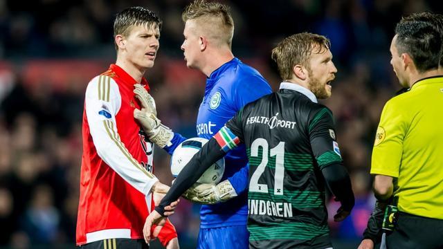 Feyenoord-spits Kramer moet vrezen voor schorsing