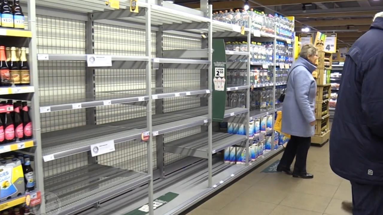 Water in veel Gelderse plaatsen uitverkocht door storing