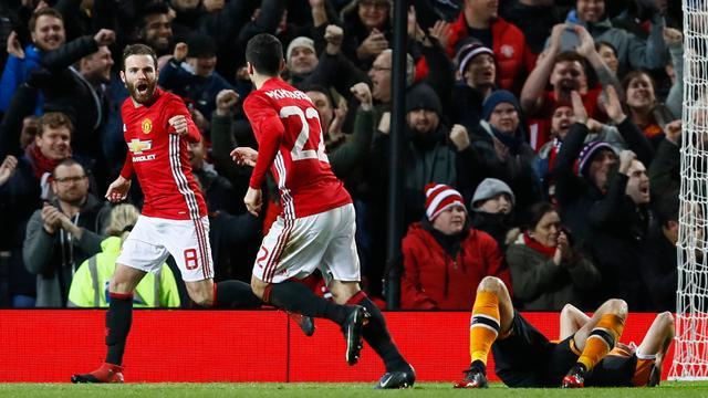 Mourinho vindt dat United-spelers eerste goal tegen Hull te lang vierden