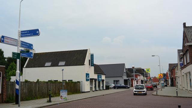 Reconstructie Dorpsstraat in Sint Willebrord duurt jaar