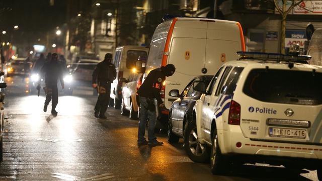 Zeven verdachten aangehouden na huiszoekingen in Brussel