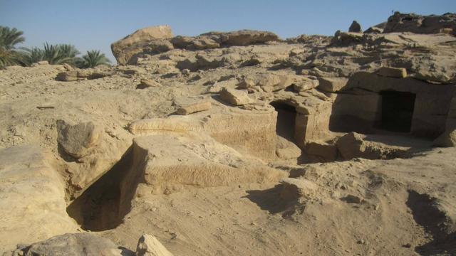 Zweedse archeologen vinden twaalf oude Egyptische begraafplaatsen