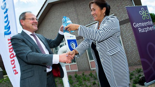Watertappunt in Sint Willebrord geopend