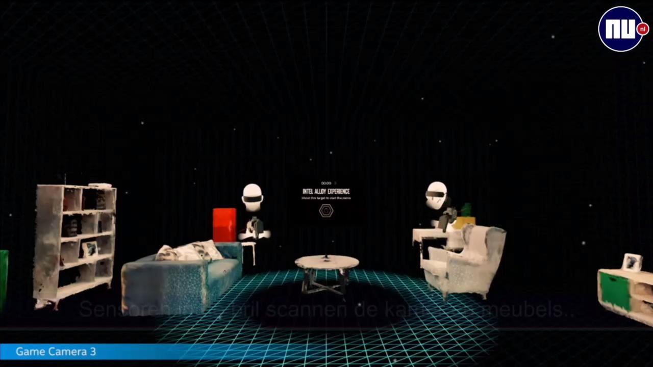 Deze VR-bril laat je lopend gamen in je woonkamer