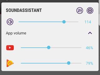 Audio-output per app is ook aan te passen