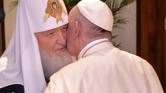 Oekraïense kerk boos over ontmoeting van paus en patriarch