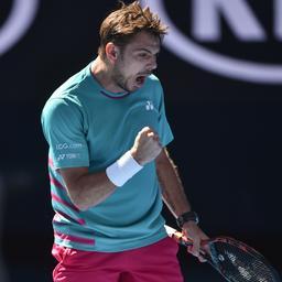 Wawrinka ten koste van Tsonga naar halve finale Australian Open