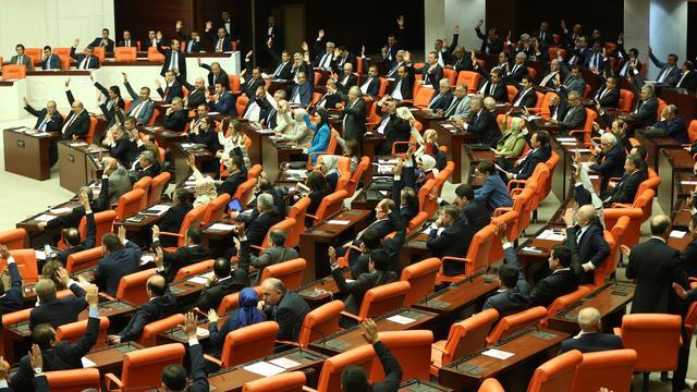Turks parlement stemt in met afschaffing onschendbaarheid leden
