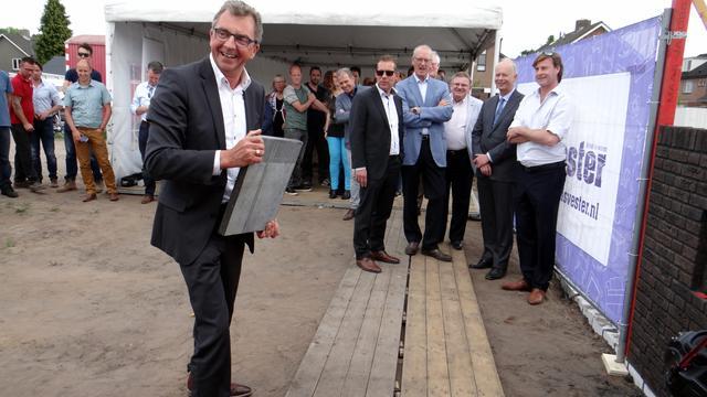Bouw huurwoningen Warandepark in Rijsbergen van start