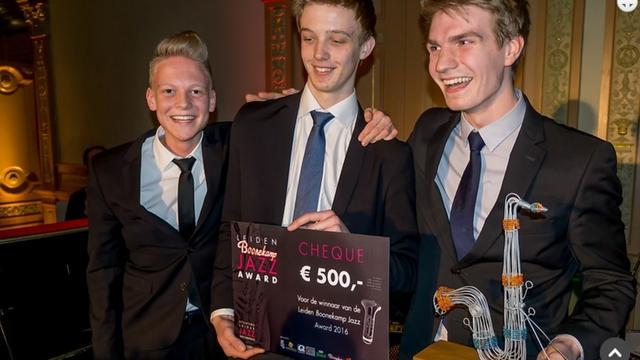 Gijs Idema Trio wint Leiden Jazz Award 2016