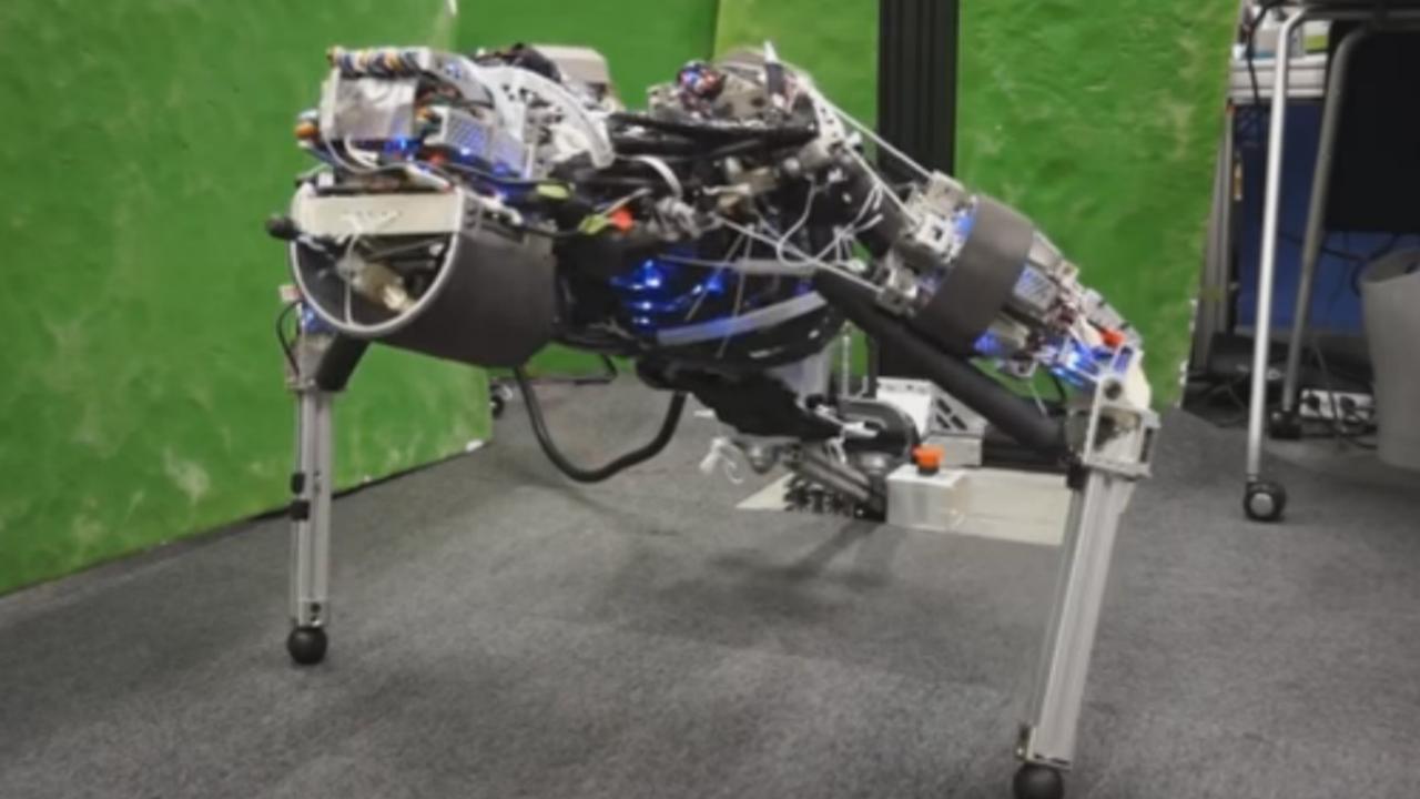 Japanse robot kan zweten en 11 minuten lang opdrukken