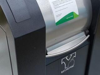 Vanaf dat moment is ook het Ecopark alleen nog met de afvalpas toegankelijk
